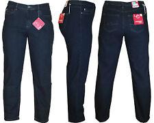 Stooker Dubai Damen Stretch Jeans Hose - Dark Blue Denim