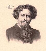 Portrait Eugène Brieux Journaliste Dramaturge Écrivain