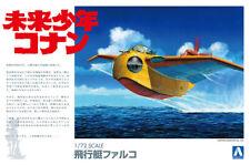Future Boy Conan Falco Mirai Shonen Anime 1:72 Model Kit Bausatz Aoshima 009451