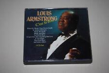 LOUIS ARMSTRONG- C'est Si Bon!!! 3 CD- SET!!! Zustand CD's- GUT BIS SEHR GUT!!!
