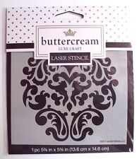 Buttercream Laser Stencil Luxe Craft Royal Design - New