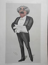 Original Vanity Fair Print of John Sims Reeve, 10th May 1890 - Opera Singer