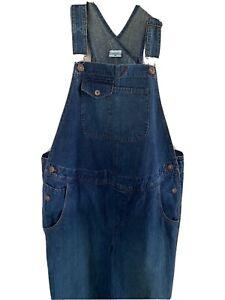 .Women`s Maternity Suspender Trousers Belly Denim Bib Overall Pregnant