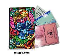 lilo et stitch 01-002  étui pochette carte grise carte d'identité permis
