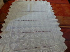 65x46cm  fait main coton crochet ,beau napperon,centre de table ou petite table