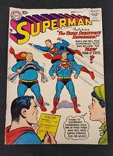 Superman #115 DC Comics 1957  SOLID VG LOOK