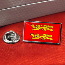 Normandy Flag Lapel Pin Badge / Tie Pin