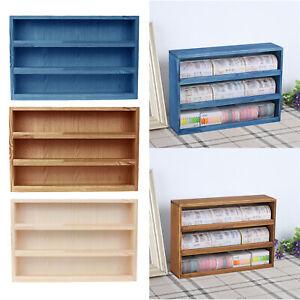 Desktop Storage Rack Mini 30x7.5x21cm Desk File Holder Tidy Bookshelf Tray