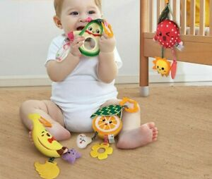 Hanging Rattle Baby Teether Stroller Crib Toys 0-12 Months Christmas Birthday