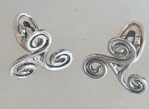 Knot Cuff Links Cufflinks Symbol of Ireland Eire  Irish sterling silver