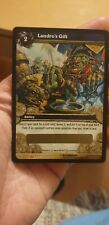 World Of Warcraft Card TCG New Loot Landros Gift Chance Spectral Tiger