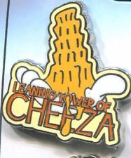 Goofy Movie Flair Icons Set Leaning Tower of Cheeza Disney Pin