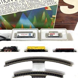 MARKLIN 8907 SET MINI CLUB Z Gauge Train Set  Western Germany 1978 Extra Cars