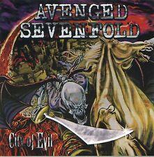 AVENGED SEVENFOLD 2005 City Of Evil Promo Sticker!!!