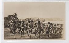 Dancers And Musicians: Papua New Guinea postcard (C30403)