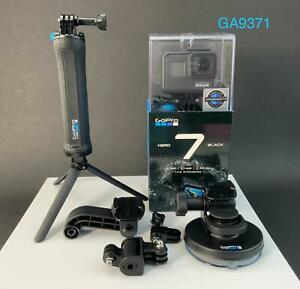 GoPro HERO7 Hero 7 Black Action Camera  CHDHX-701 With Accessories (NEW-SEALED)