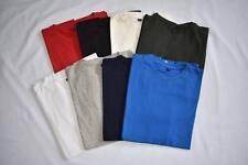 Mens Crew Neck T-Shirts Tees Tops S,M,L,XL,XXL 90% Cotton 10% Lycra