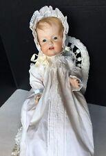 "Vintage JDK Kestner 1914 Reproduction Hilda Baby doll 16"" Seeley Body Gorgeous"