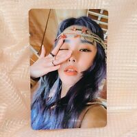 Wheein Official Photocard MaMaMoo 2nd  Album Reality in Black kpop ver 1 HIP