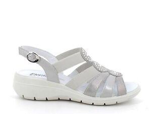 ENVAL SOFT 7282211 Sandalen Schuhe Keilabsätze Leder Frau Laminat