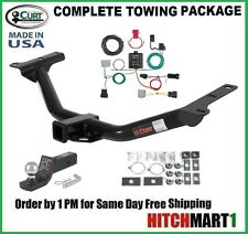 FITS 2011-2018 DODGE JOURNEY w/ LED  CLASS 3 CURT TRAILER HITCH PACKAGE  13201