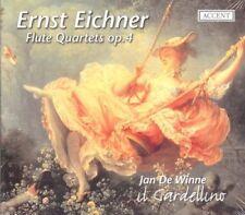 Ernst Eichner: Flute Quartets op.4 - CD Digipak, Jan De Winne il Gardellino, NEU
