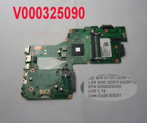 For Toshiba C50D C55D Laptop Motherboard AMD A4-5000 6050A2556901-MB V000325090