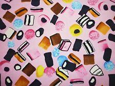 Clearance yard réglisse allsorts tissu bonbons candy kitsch