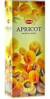 Hem Incense Sticks Apricot Bulk 120 Stick for Cleansing Spiritual Blessings