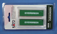 kato N 23-507C  2 PK *EVERGREEN* 40' CONTAINERS