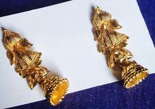 NEW Indian Style Cute small Gold Color Earnings wear any party Women Girls