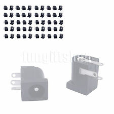 50pcs 5.5x2.1mm DC Power Supply PCB Mount Female Jack Socket Connector 3 pin