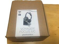 Plantronics Voyager Focus UC B825-M Stereo Bluetooth Headset - New