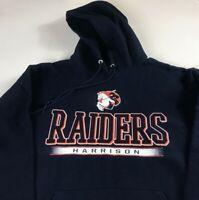 Harrison Raiders Hoodie Adult SZ S/M Sweatshirt Indiana High School Mens Womens