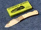 Vintage Parker Brothers Cutlery K 6 Invincible Skinner folding knife bone Japan