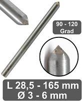 CNC Gravur Gravieren von Metall Platinen Leiterplatte PCB Fr/äsen 10 Grad /Ø 3,175mm Kunststoff Holz Corintian VHM Gravierstichel Gravurstichel