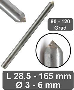 Gravierdiamant 4 Facetten Schliff Ritzgravur in Glas Ritzdiamant Gravur Diamant