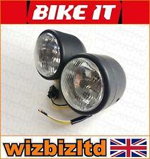 Classic Street or Naked Bike Headlight Conversion (Mot Ready) - HLUTRBLK