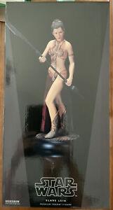 Star Wars Slave Leia Sideshow Premium Format Statue #97/750