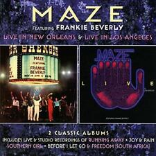 Maze Featuring Frankie Beverly - Live In New Orleans / Live In Los Ang (NEW 2CD)