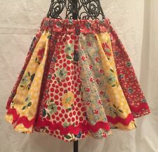 """School Days"" Circle Skirt Handmade / America Jane Collection Sz3"