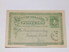 More details for (a466) 1904 newfoundland used postcard from british & foreign bible society
