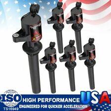 6Pcs Ignition Coils Plug For Ford Escape Mazda Mercury 3.0L V6 DG513 FD502 DG500