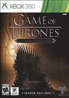 Game of Thrones: Season Pass Disc (Microsoft Xbox 360, 2015) NEW!