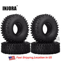 "1.9"" Tire & Foam 120mm for 1/10 RC Crawler Axial SCX10 & SCX10 90046 TRX4 D90"