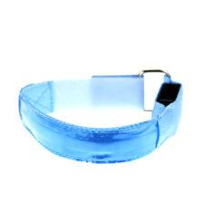 Adjustable Fashion LED Sleek Runners LED Flashing Band Arm Strap Blue New