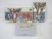DARK HALF Super Famicom Nintendo SFC Japan Boxed Game sf