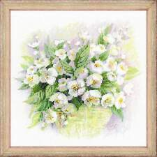 Cross stitch kit RIOLIS #1467 Watercolour Jasmine, flowers