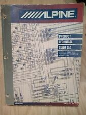 Alpine Technical Guide 1991 - 1996 Product / Installation Information Jan 1995