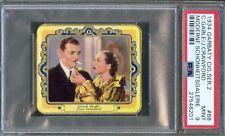 1934 Garbaty Cigarettte Card #68 CLARK GABLE w/ JOAN CRAWFORD Smoking PSA 9 MINT